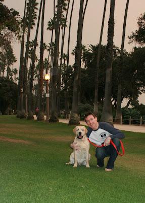Charlie & Cooper at Palisades Park