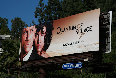 007 Quantum of Solace billboard