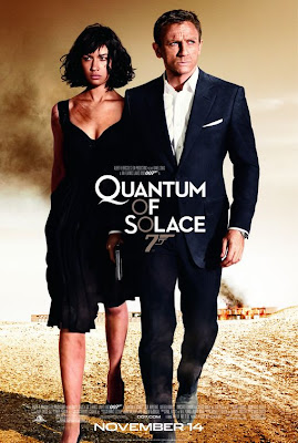 Bond Quantum of Solace film poster