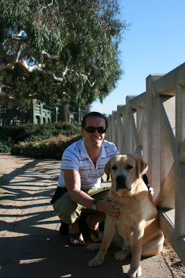 Palisades Park pup &amp; Jason in Hollywood