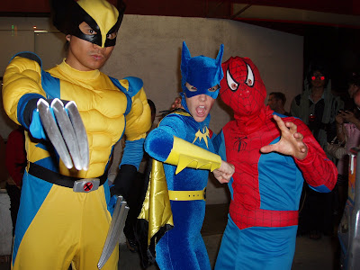 West Hollywood Costume carnival - Spidey and his amazing friends