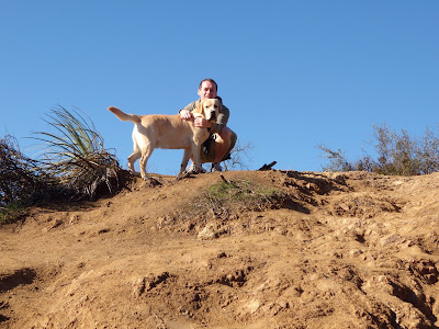 Cooper & Jason on a Runyon Canyon hike