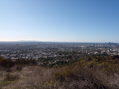 Panoramic view from Runyon Canyon