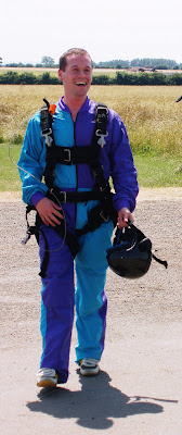 After the Treehouse tandem skydive