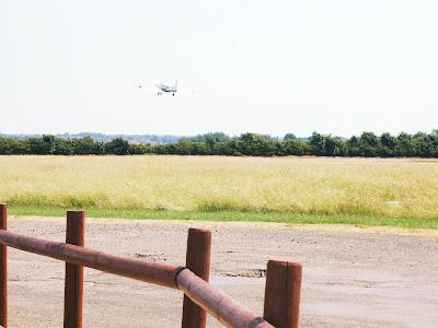 Treehouse tandem skydive plane