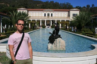 Jason at The Getty Villa in Malibu