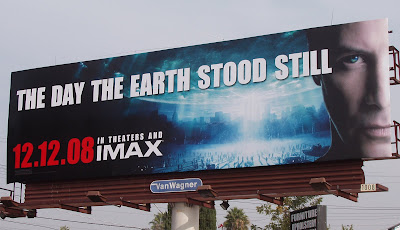 The Day the Earth Stood Still remake film billboard