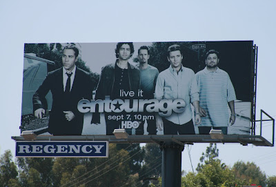 Entourage TV Show season 5 billboard