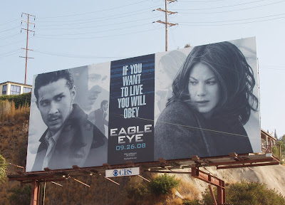 Eagle Eye movie billboard