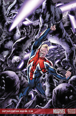 Captain Britain and MI13 issue 8