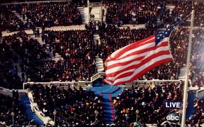 President Obama's Inauguration day in Washington DC