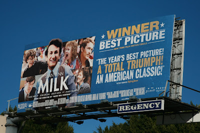 MILK film billboard on Sunset Blvd