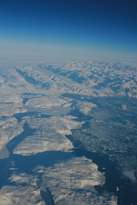 Frozen wasteland of Greenland