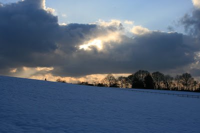Snowy Crowborough horizon