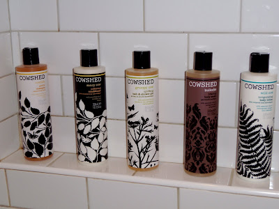Indulgent Cowshed products