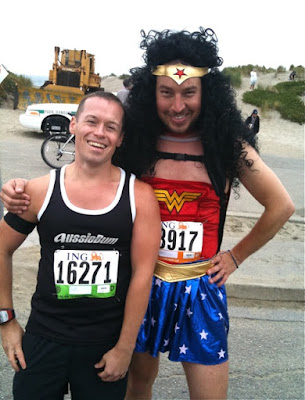 Wonder Woman after Bay to Breakers 2010