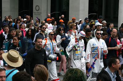 Astronauts Bay to Breakers 2010