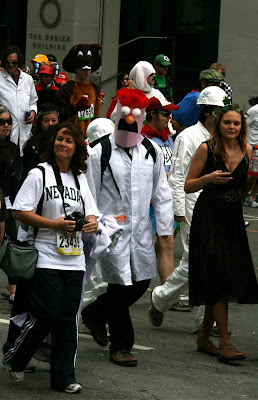 Beaker costume Bay to Breakers 2010
