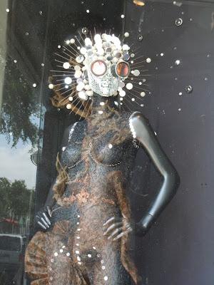 Eio glitterball mannequin creation