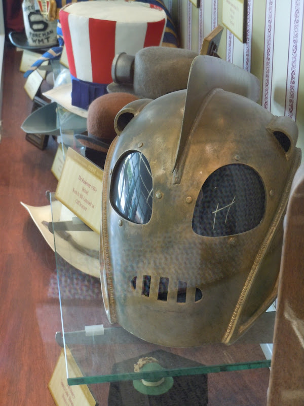 The Rocketeer helmet prop