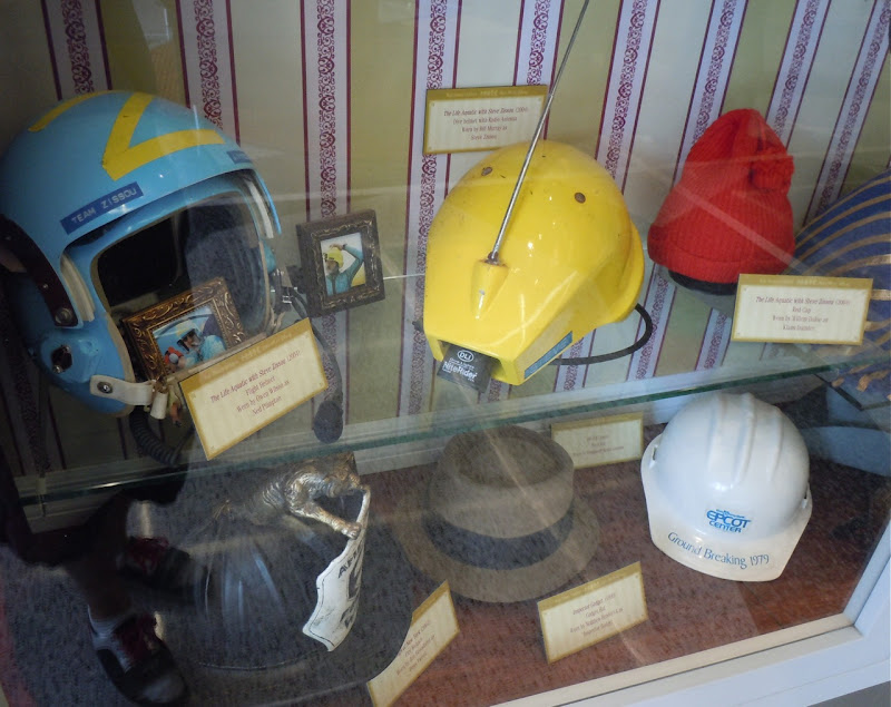 The life Aquatic movie hats