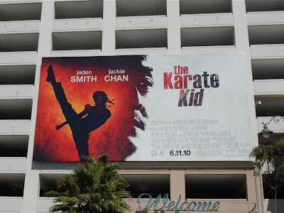 Karate Kid movie billboard