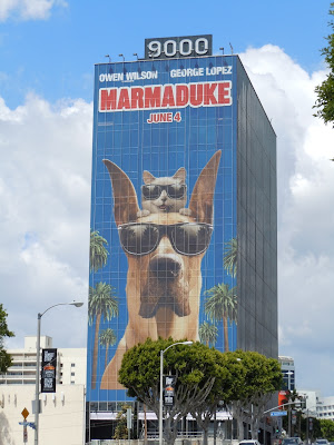 Marmaduke film billboard