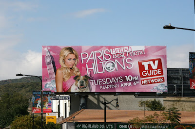 Paris Hilton's British Best Friend billboard