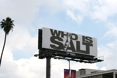 Who is Salt Angelina Jolie billboard