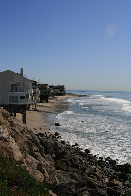 Malibu beach houses