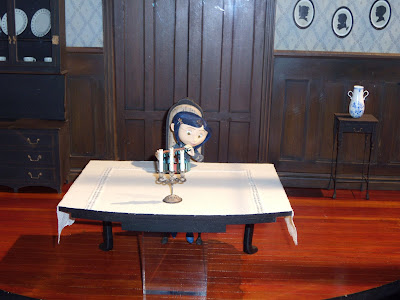 Coraline stop-motion models from the movie