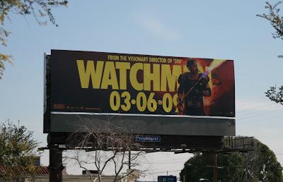 Watchmen -The Comedian movie billboard
