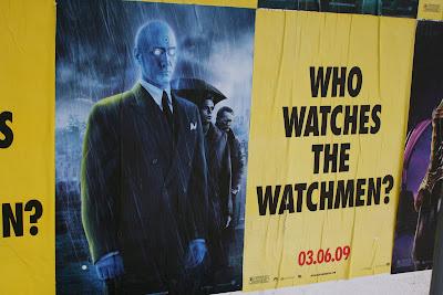 Watcmen movie - Dr Manhattan poster