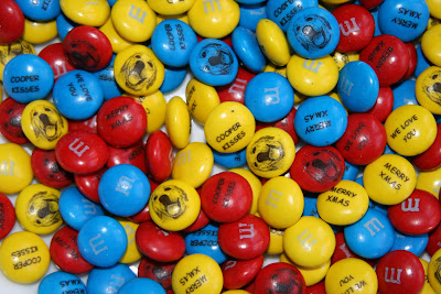 Cooper kisses - M&Ms chocolates