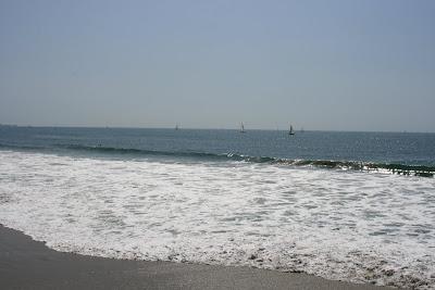 Venice Beach ocean yachts