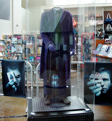 The Joker costume from The Dark Knight movie