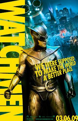 Nite Owl Watchmen movie poster