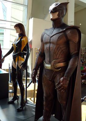 Watchmen movie costumes - NIte Owl close up