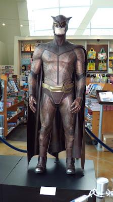 Nite Owl II Watchmen movie costume on display