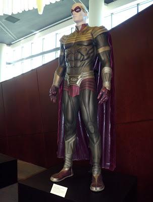 Ozymandius Watchmen movie costume on display