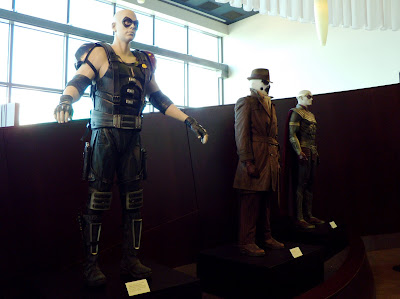 Watchmen film costumes at ArcLight Sherman Oaks