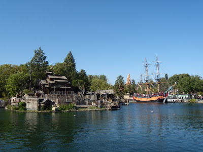 Rivers of America at Disneyland California