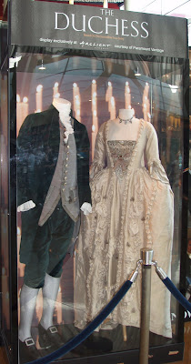 The Duchess period movie costumes