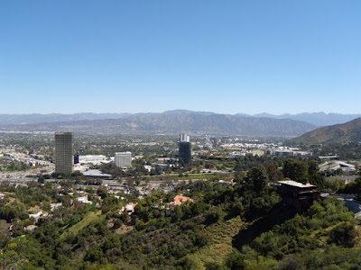 Mulholland Overlook view