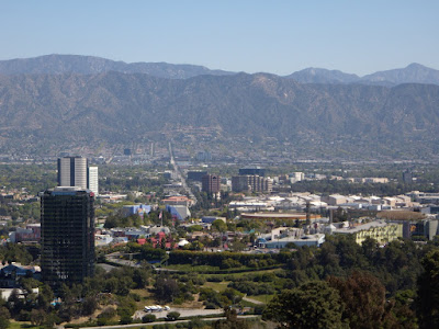 View from Universal City Overlook