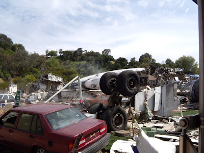 Studio movie set for War of the Worlds