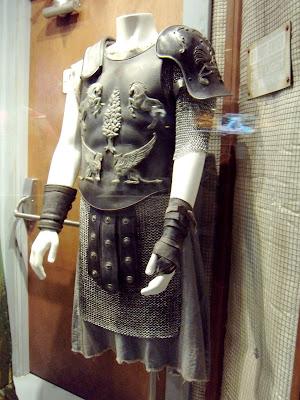 Russell Crowe's Gladiator movie costume