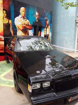 2 Fast 2 Furious black car on display