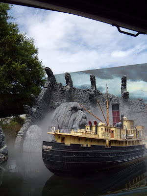 King Kong model on Universal Studio Tour