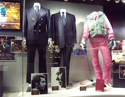 Movie costumes from Frist Nixon and Bridget Jones Diary